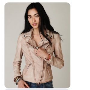 accd31649 💔💔RESERVED MUUBAA Athena Leather Jacket Lobster NWT