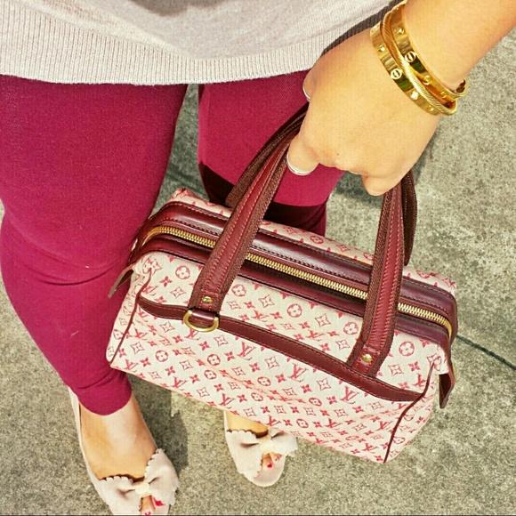 Louis Vuitton Handbags - Louis Vuitton Mini Lin Josephine PM Satchel e8cd0f57794c