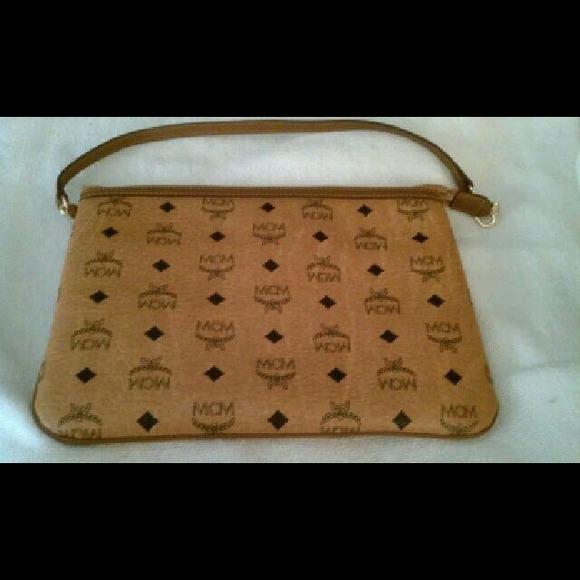 Mcm Bags Authentic Clutchhandbag Poshmark