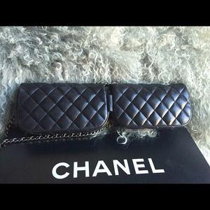 55703755d50c CHANEL Bags - 💝sold on ebay💝Chanel double mini cross body bag