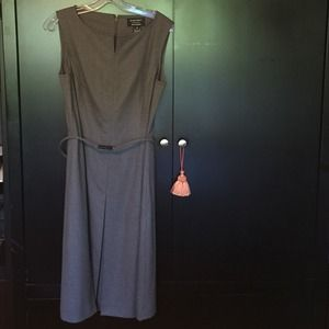 Ellen Tracy Grey Dress