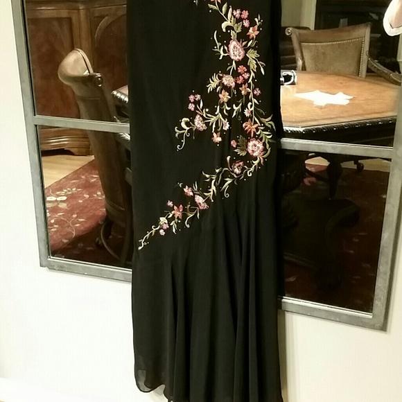 Off s l fashions dresses skirts black floor length