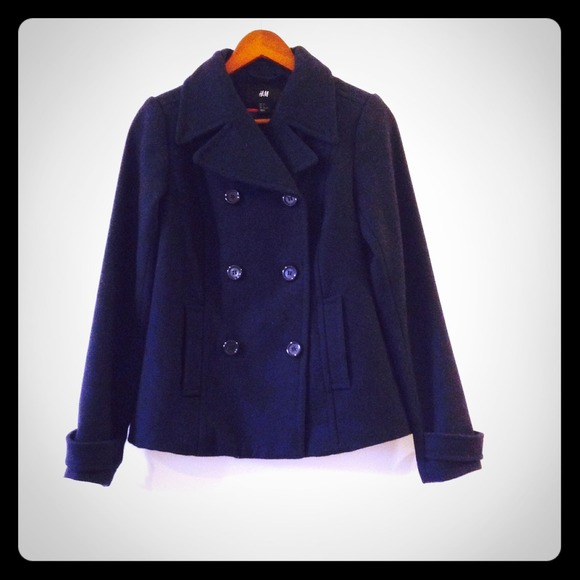 Royal Navy Pea Coat | Down Coat