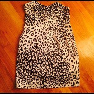 NWOT Leopard Print Dress