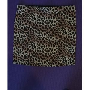 Forever 21 Cheetah Print Pencil Skirt
