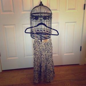 H&M Cheetah Printed Skater Dress!