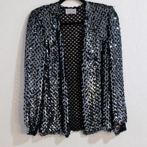 Sparkly vintage sequined jacket