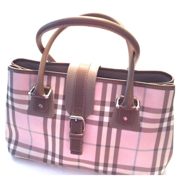 Burberry Purse Pink