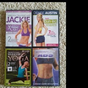 Other - 4 workout dvds