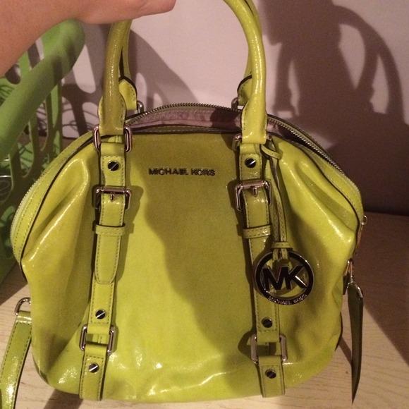 Michael Kors - Michael Kors lime green handbag from Samantha's ...