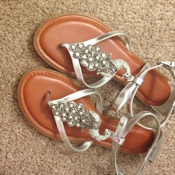 3c0109b3d14 Gianni Bini Shoes - peacock sandals
