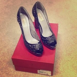 Price Reduced! Valentino platform heels