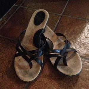 Merona Short Heeled Sandals