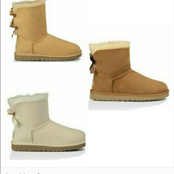 f300be497f8 ISO Bailey bow uggs or sequin uggs