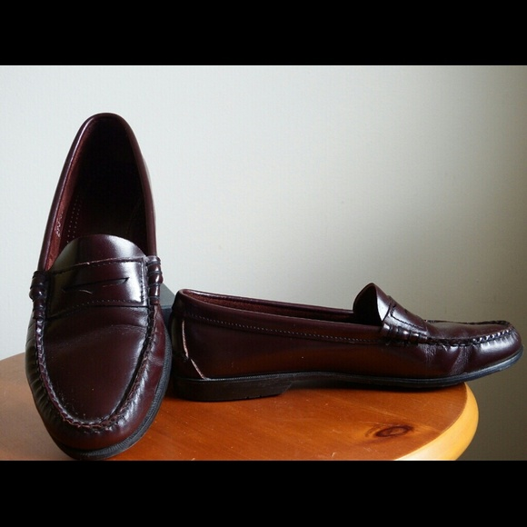 Sebago Shoes Classic Leather Oxblood Penny Loafers Poshmark