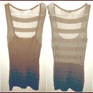 NWOT mesh bandage dress size medium 
