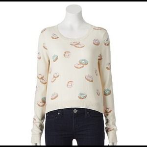 LC Lauren Conrad Sweaters - ❌SOLD OUT❌🎉HP🎉Donut Sweater