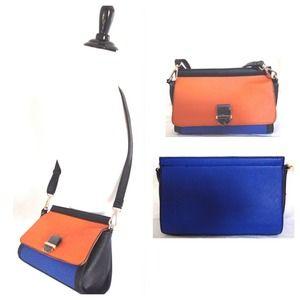 Gorgeous Color Block Statement Bag