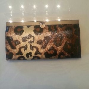Leopard wallet/clutch