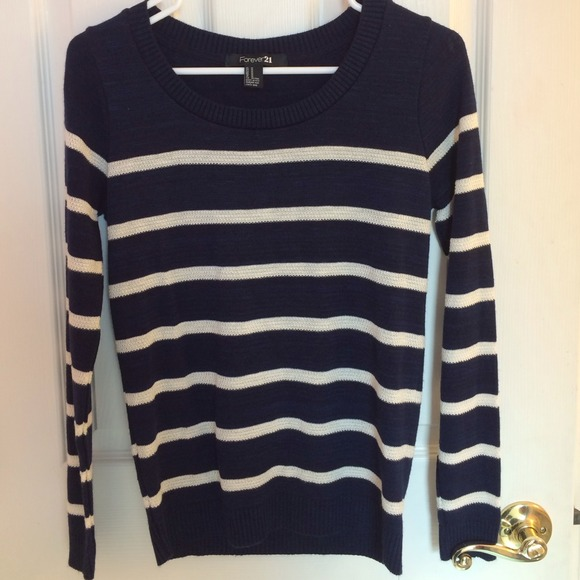 Shop blue white striped sweater at Neiman Marcus, where you will find free shipping on the latest in fashion from top designers.