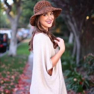 Forever 21 Sweaters - SOLD!!! FOREVER 21 One Shoulder Sweater / Poncho