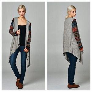 Jackets & Blazers - LAST❗️Aztec Print Cardigan