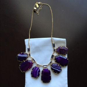 """Kate Spade """"Set in Stone"""" necklace"""