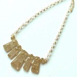 NEW Egyptian Style Gold Necklace