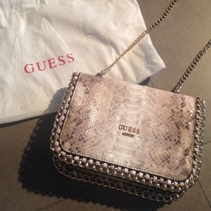 Snakeskin GUESS? Bag