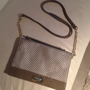 Olivia + Joy Handbags - Olivia and Joy metallic bag