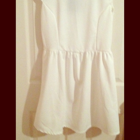 how to clean cream colored dress
