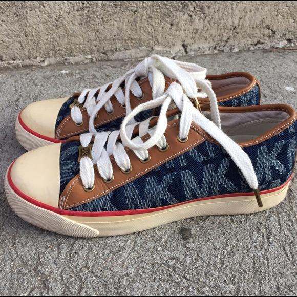 Michael Kors Mk Sneakers Sz 65 Shoes