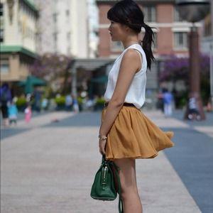 Dresses & Skirts - New Mustard Skirt
