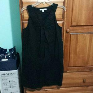 Old Navy black linen dress