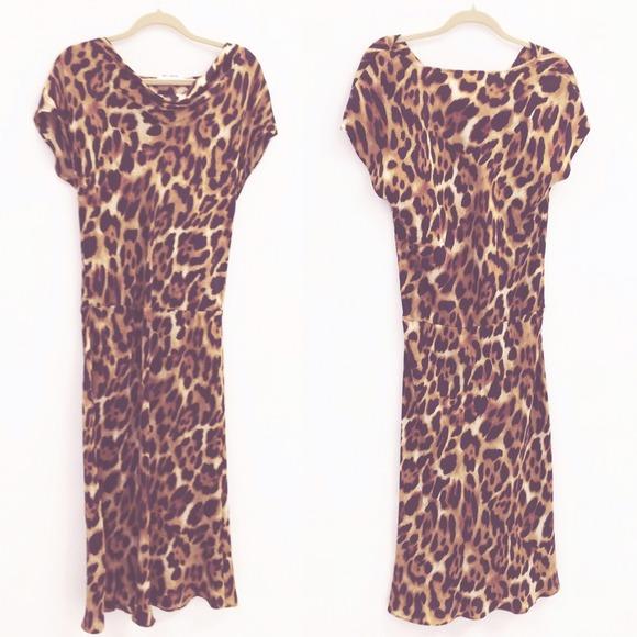 336bf1a58154 Josie Natori Dresses | Leopard Print Dress | Poshmark