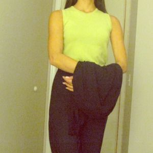 Eddie Bauer green sleeveless top size XS