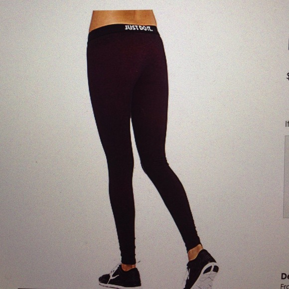 18 off nike pants new nike pro black metallic logo. Black Bedroom Furniture Sets. Home Design Ideas