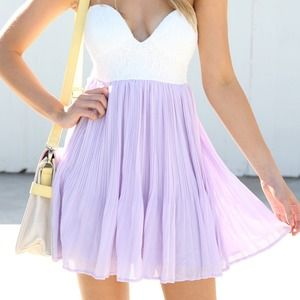 Sabo Skirt Lavender Tea Dress
