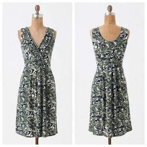 Anthropologie Woody Nymph Dress