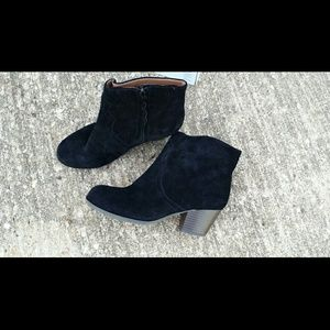 Lucky Brand Black Suede Boots