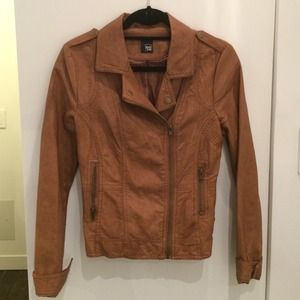 Pimke Faux Leather Jacket