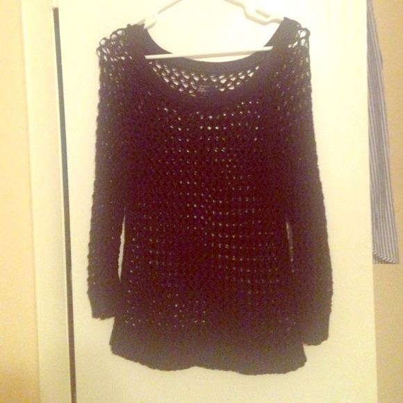 American Eagle Outfitters Sweaters - AE crochet sweater ✨