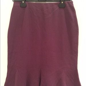 Malo Dresses & Skirts - Fit and flare knee-length purple skirt