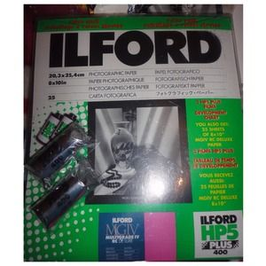 Other - 1 Pack of Ilford B&W Photography Set