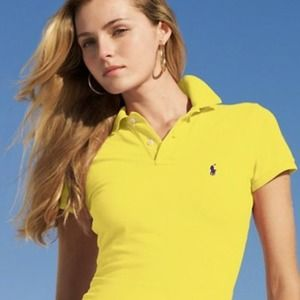Ralph Lauren Sport Yellow Top