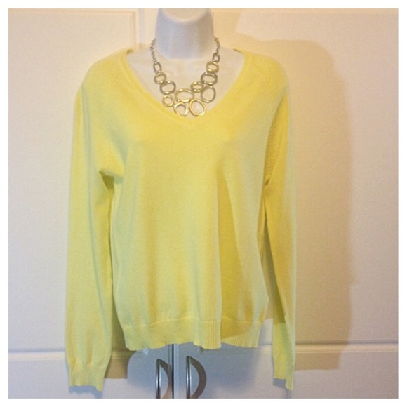 Zara - Zara Pale Yellow Sweater from Alice's closet on Poshmark