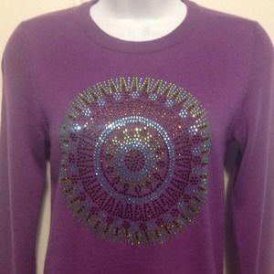 Tory Burch Sweaters - Tory Burch Purple Sweater
