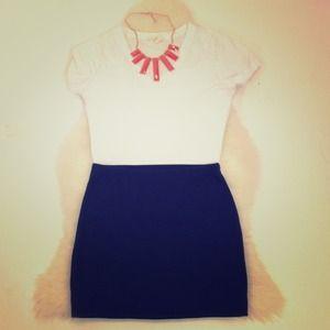 Forever21 navy miniskirt size XS