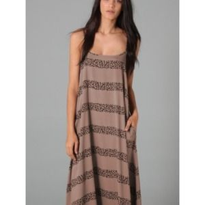 Mink Pink Brown The Zulu Maxi Dress in Mocha