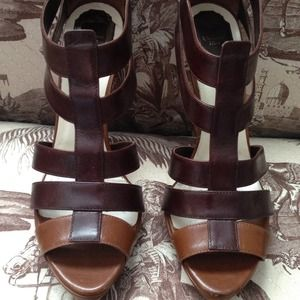Christian Dior Brown Leather Sandals 9.5